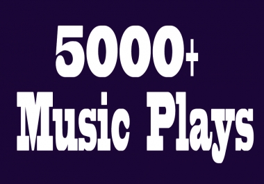 H.Q & Real music promote service 5000+ album artist hits all active listeners only for track