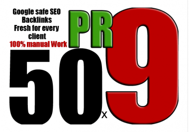 80+ DA 50 Pr9 High Quality SEO Domain Authority Permanent Backlinks