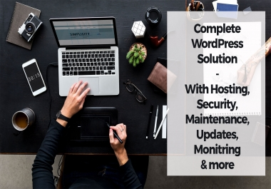 Ultimate WordPress Hosting with Maintenance service