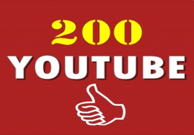 200 Y o u t u b e Video Likes Non Drop split link 4