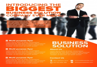 FAST 24 HR FLYER DESIGN HIGH QUALITY WORK SEE AD
