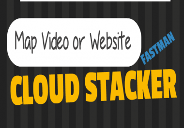 Cloud Stacker- SEO Backlinks - Video Embeds - Map Embeds