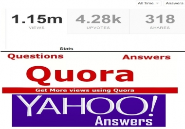 10 niche relevant HQ backlinks from question answer sites
