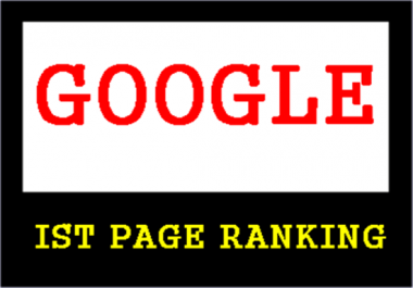 Give guaranteed Google top 3 ranking