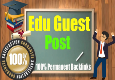 Guest Post On EDU sites HIGH DA