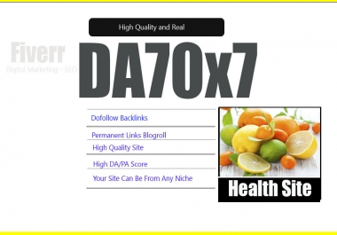 Give Link Da70x7 HQ Site Health Blogroll Permanent