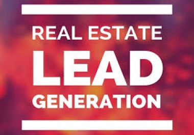 provide verified Real Estate & Realtors Leads with in 48 hours