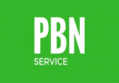 Create 25 High PA/DA TF/CF Homepage PBN Backlinks With 1500 2nd Tiers