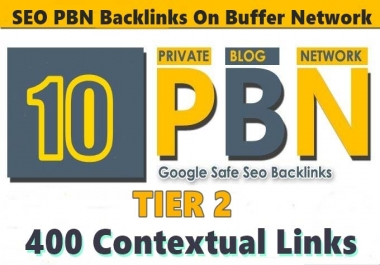 12 Powerful Homepage Dofollow PBN Links DA PA 30 PLUS and 400 2nd Tire Backlinks
