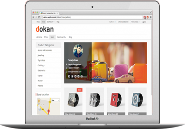develop multi vendor marketplace using dokan in wordpress
