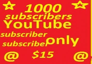 100 YouTube subscribers non drop guaranteed