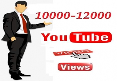 Instant start  10000 to 11000  youtube video views 24-48 hours delivery