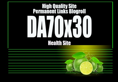 Give U Blogroll Links DA70x30 Business HEALTH