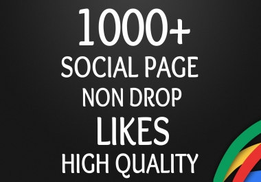 Add Fast 1000+ HQ Page Likes Worldwide SEO Safe and Stable with REAL and ORGANIC promotion