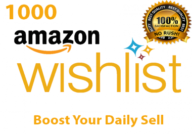 Create 1000 Keyword Searchable Unique Amazon Traffic To Wish Your Listing