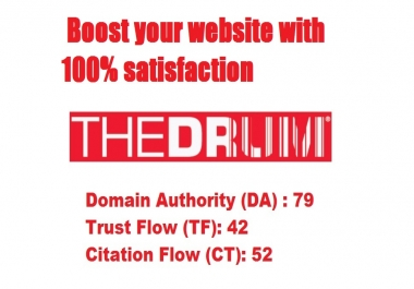 Write And Publish A Guest Post On Thedrum.com , DA 79