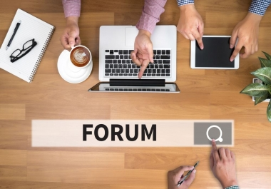 1000 Forum Profiles Backlinks From High Quality Forums