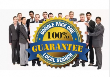Provide White Hat Monthly SEO Service With Page 1 Guaranteed
