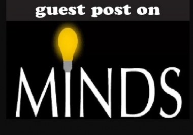 Publish Your Guest Post on Minds. com, Dofollow Backlink