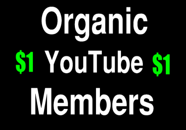 Organic 30 Sub for Youtube Marketing