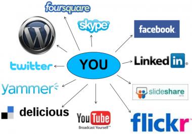 I will create 100 manually social profile backlinks