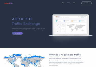 1,000,000 traffic points to your account on itraffichub.com to boost your rank