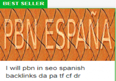 PBN Spain DA PA TF CF  Spanish PBN  Backlinks Trustflow