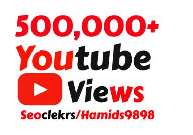 Adding 500,000+ High Quality YouTube Vi ews