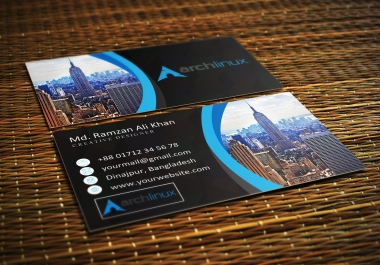 Design Eye Catching Unique Business Card
