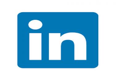 1250 Linkedin shares private offer on seoclerk