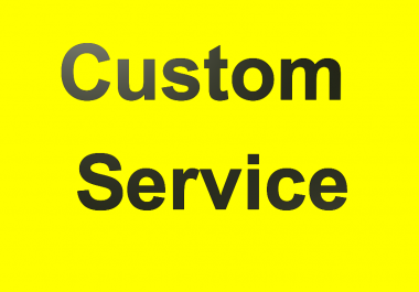 Custom Service For Regular Clients