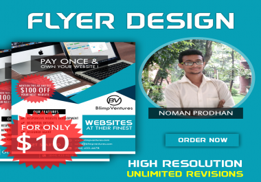 Professional & Eye catching Flyer