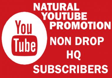 Natural Youtube Promotion - SUB