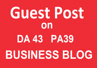 Publish a Guest Post on Bussinesshours - Business Blog