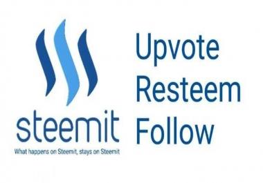 Guarantee a do-follow backlink on Steemit.com DA 72