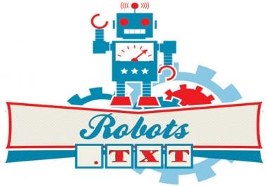 fix robots.txt problem of your site.