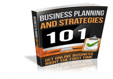Business Planning & Strategies 101