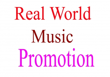 Real music promotion experience within 28 hours
