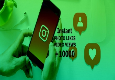 10000+Social Media post Likes or Views within 10-30minutes