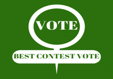 Give 500+Vote to YOU WIN ON ONLINE CONTEST Within 2-3 hours