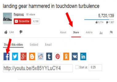 250+genuine USA Youtube Video Shares to promote your Youtube channel