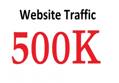 500,000+ Targeted Human Traffic Visitors to your Website or Blog From Social Media