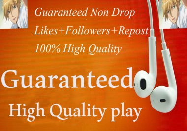 Get High Quality sc 6000+plays+30 Likes+30 Repsost+10 comments within 2-3 Hours
