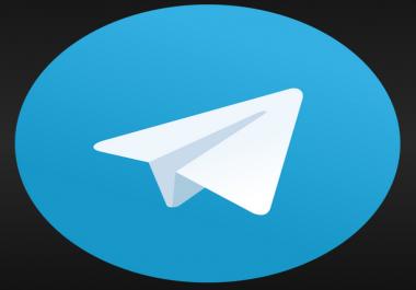 Buy 18,000 Telegram Members - HIGH QUALITY