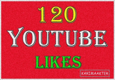 Add 120 Safe YouTube Likes In Your Video