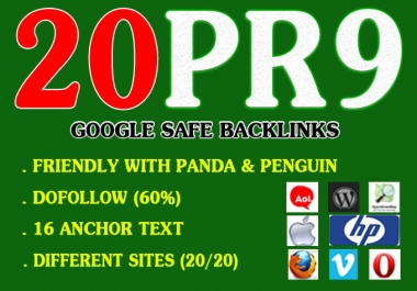 80+ DA 20 Pr9 High Quality SEO Domain Authority Permanent Backlinks