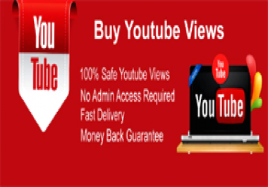 Instant 20000 High Retention You Tube vie ws within 24 hours