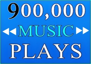 900,000 USA Plays with 25 likes And 25 reposts