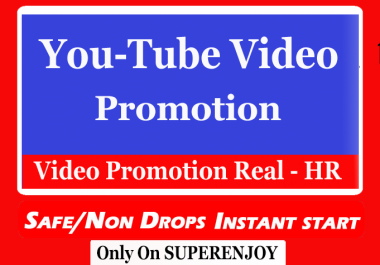 Fast Organic Youtube Video Promotion and marketing general audience of 1000 people