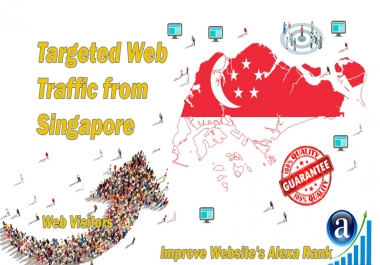 Send 20.000 Singapore web visitors real targeted geo traffic